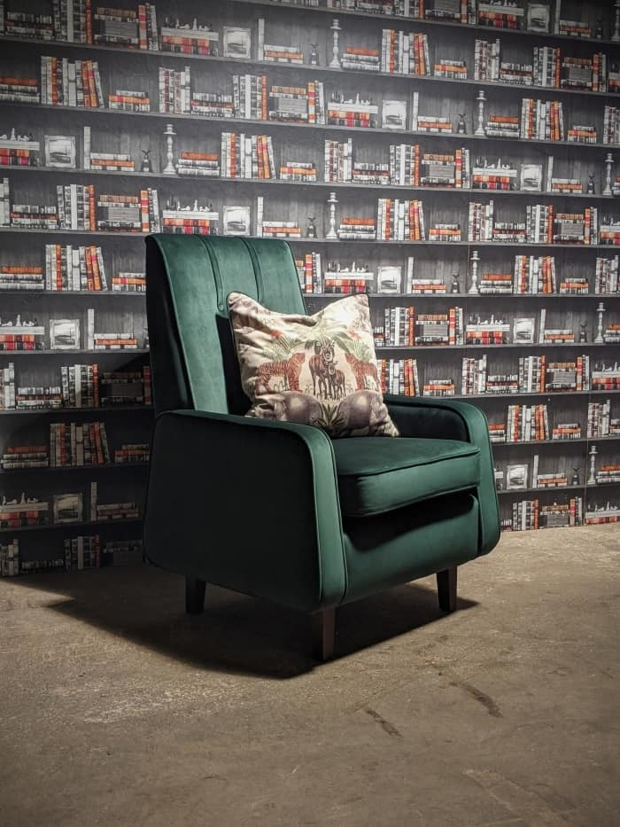 Geneva Emerald Green ArmChair