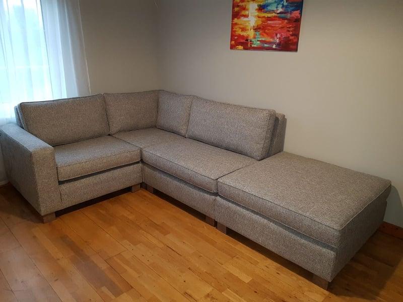 Picture of a corner Sofa