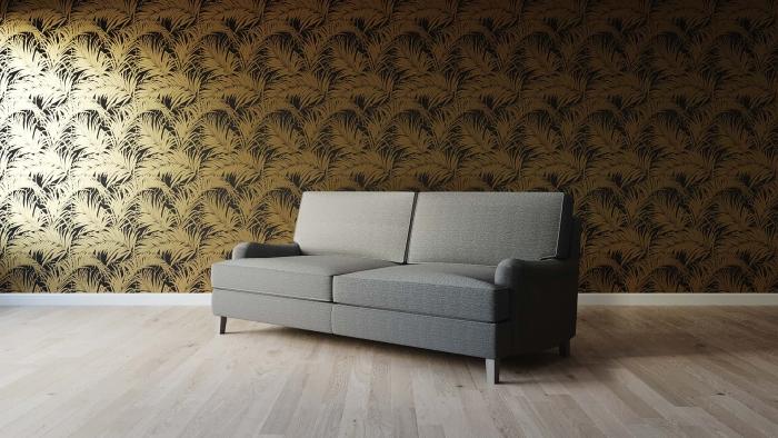 Huron Sofa Angle View