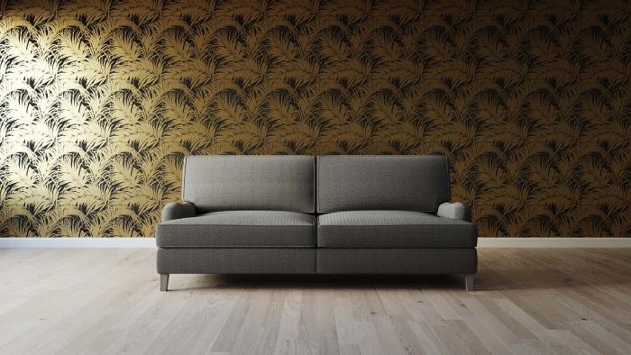 Huron Sofa Front View