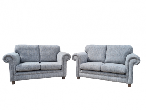 2x two seater sofas