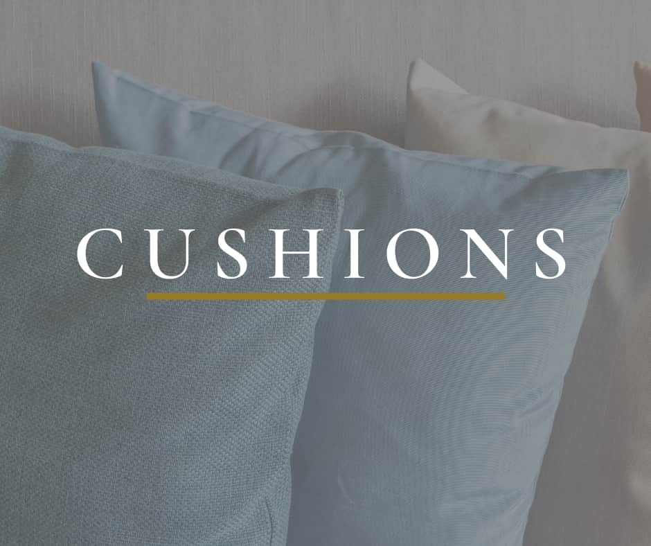 Picture of Cushions that leads to cushion category of products