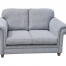 Single Gray Two Seater Sofa