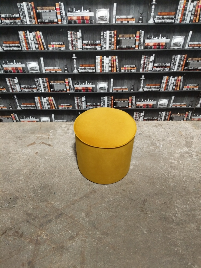 Turmeric footstool top