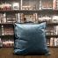 gray blue cushion