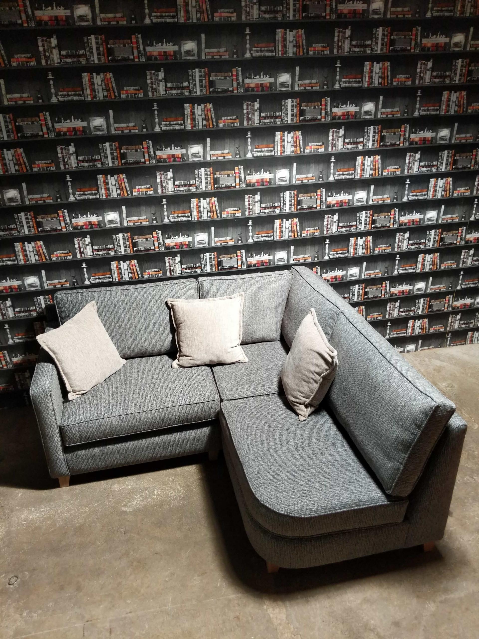Logan Corner-Sofa top view
